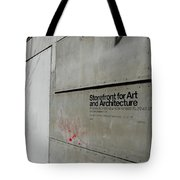 Storefront For Art And Architecture Tote Bag