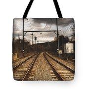 Storm Ahead Tote Bag