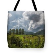 Storm And Cattle Tote Bag