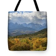 Storm Approaching County Road 7 Tote Bag