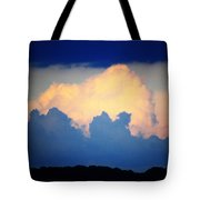 Storm Approaching Painting Tote Bag
