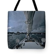 Storm At Put-in-bay Tote Bag