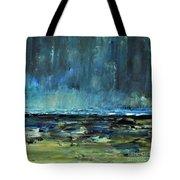 Storm At Sea II Tote Bag