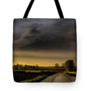 Storm Before Sunset Tote Bag