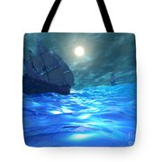 Storm Brewing Tote Bag by Corey Ford