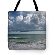 Storm Clouds Above The Atlantic Ocean Tote Bag