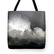 Storm Clouds Are Brewin' Tote Bag