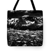 Storm Clouds Gathering In The Rockies Tote Bag