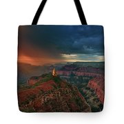 Storm Clouds North Rim Grand Canyon Arizona Tote Bag by Dave Welling