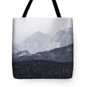 Storm Clouds On Pikes Peak Tote Bag