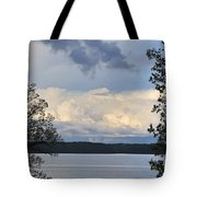 Storm Clouds Over Kentucky Lake Tote Bag