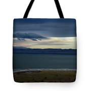 Storm Clouds Over Mono Lake Tote Bag