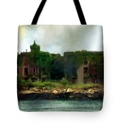 Storm Clouds Over Old New York Tote Bag