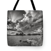 Storm Clouds Over Oriental Tote Bag