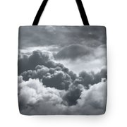Storm Clouds Over Sheboygan Tote Bag