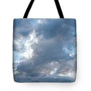 Storm Clouds Passing Tote Bag