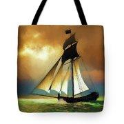 Storm Comes Tote Bag