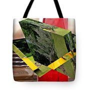 Storm Damage And Tail Light As Art Tote Bag