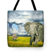 Storm Field Tote Bag