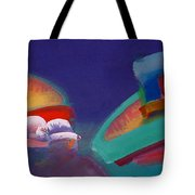 Storm Horizon Tote Bag