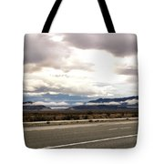Storm In The Desert Tote Bag