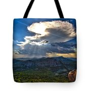 Storm In The Heavens Tote Bag