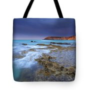 Storm Light Tote Bag by Mike  Dawson