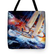 Storm Meister Tote Bag