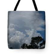 Storm Moving In Tote Bag