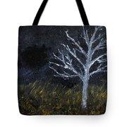 Storm Night Tote Bag