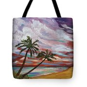 Storm Of Contrast Tote Bag