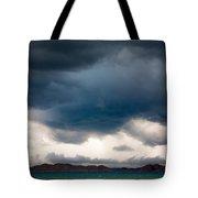 Storm On Karakul Lake Tote Bag