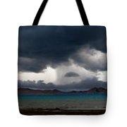 Storm On Karakul Lake. Panorama Tote Bag by Konstantin Dikovsky