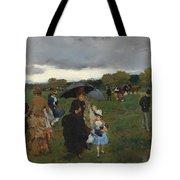 Storm On The Bois De Boulogne Tote Bag