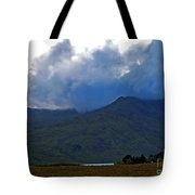 Storm On The Horizon In Connemara Tote Bag