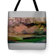Storm On The Mountain Tote Bag