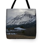 Storm On The Rocky Mountain Front Tote Bag