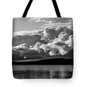 Storm Over Lake Placid Tote Bag