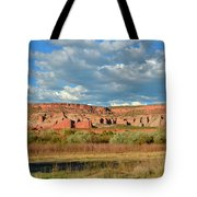 Storm Over Red Rocks Tote Bag