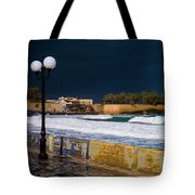 Storm Over The Aegean Tote Bag