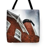 Storm Over The Light Tote Bag