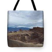 Storm Over Zabriskie Point Tote Bag