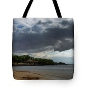 Storm Rolling In Tote Bag