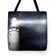 Storm Searchlight Tote Bag