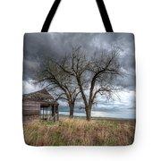 Storm Sky Barn Tote Bag