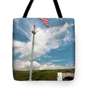 Storm The Hill Tote Bag