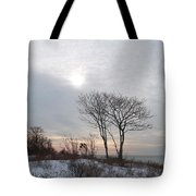 Storm Trilogy--three Harkness Memorial State Park Tote Bag