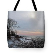 Storm Trilogy-one Harkness Memorial State Park Tote Bag