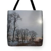 Storm Trilogy-two Harkness Memorial State Park Tote Bag