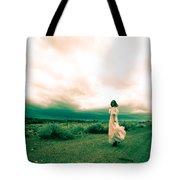 Storm Walk - Split Tone Tote Bag